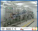 2000LPH PLC Control UHT Milk Production Line With Butter / Cheese Processing Equipment