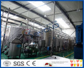 Full Automatic PLC Control Apple Juice Making Plant For Fruit Juice Factory