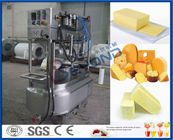 PLC control Commercial Cheese Making Equipment , 1000Liters soft white Cheese Machine