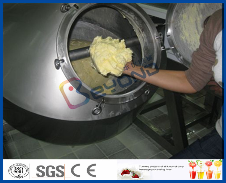 High Speedcow milk Butter Making Machine With Automatic Filling Equipment