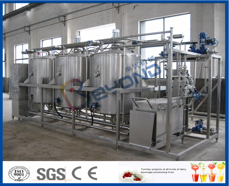 Manually / Semi - Auto Small CIP Cleaning System Conjunct Type 5TPH 10TPH