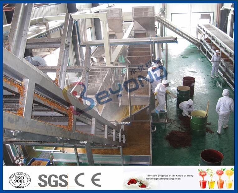 Apple / Pear Juice Fruit Processing Equipment For Juice Processing Line